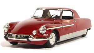 シトロエン DS21 シャプロン クーペ ル・ダンディ 1965 ヘッド&テールライト点灯 レッド メタリック (ミニカー)
