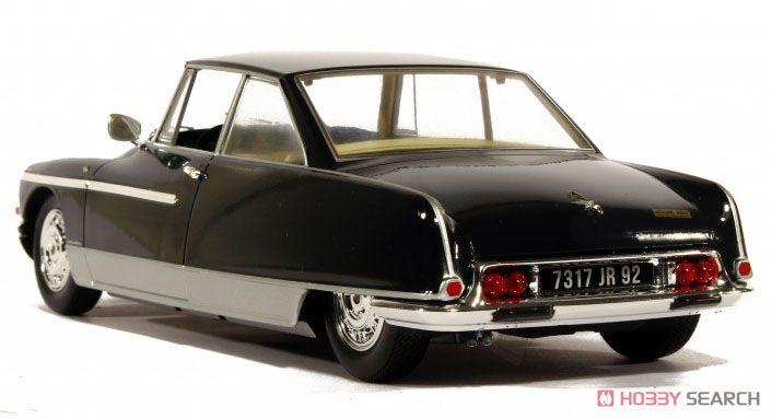 シトロエン DS21 シャプロン ル レマン 1968 ヘッド&テールライト点灯 ナイト ブルー (ミニカー)