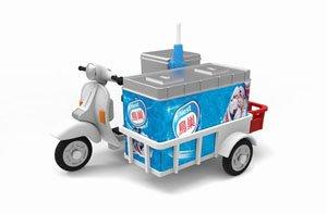 No.28 アイスクリーム販売車 (ミニカー)