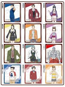 逆転裁判 ~その「真実」、異議あり!~ ミニ色紙コレクション 12個セット (キャラクターグッズ)