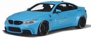 LB☆WORKS BMW M4(ベイビーブルー) (ミニカー)