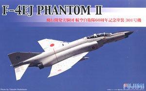 F-4EJ ファントムII 飛行開発実験団 航空自衛隊60周年記念塗装 301号機 (プラモデル)