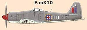 シーフューリー F Mk.10 RAN (プラモデル)