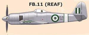 シーフューリー FB.11 ロイヤルエジプト空軍 (プラモデル)