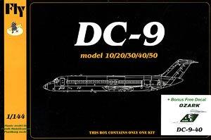 DC-9-40 「オザーク・エアラインズ」 (プラモデル)