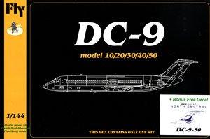 DC-9-50 「ノースセントラル・エアラインズ & リパブリック航空」 (プラモデル)