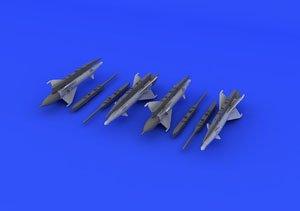 AA-1アルカリミサイルとパイロン (4セット入り) (プラモデル)