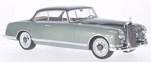 メルセデス 300B ピニンファリーナ 1955 メタリックダークグリーン (ミニカー)