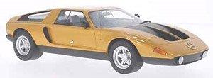 メルセデス C111-II 1970 メタリックオレンジ/マットブラック (ミニカー)