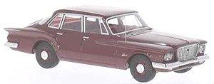 プリムス ヴァリアント セダン 1960 メタリックダークレッド (ミニカー)