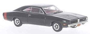 ダッジ チャージャー R/T 1969 ブラック (ミニカー)