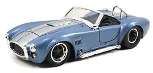 1965 SHELBY COBRA /BLUE Silverstrips (ミニカー)