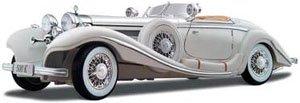 1936 メルセデスベンツ 500k Typ スペシャルロードスター (ホワイト) (ミニカー)