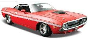 1970 ダッジ チャレンジャー R/T クーペ (レッド) (ミニカー)