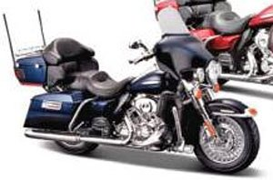 H-D Motorcycles - FLHTK Electra Glide Ultra Limited (Big Blue Pearl/Vivid Black) (ミニカー)