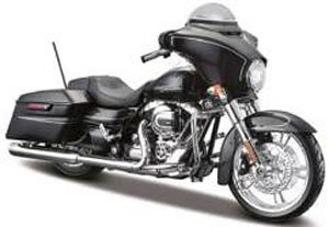 H-D Motorcycles - Street Glide (ブラック) (ミニカー)