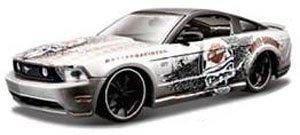 2011 フォード マスタング GT (メタリックグレー/フラットブラック) (ミニカー)