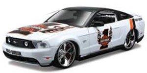 2011 フォード マスタング GT (ホワイト) (ミニカー)