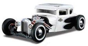 1929 フォード モデル A (メタリックホワイト) (ミニカー)