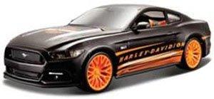 2015 フォード マスタング GT (フラットブラック) (ミニカー)