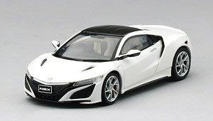 ホンダ NSX 2017 130R ホワイト w/ Carbon Fiber Package (RHD) (ミニカー)