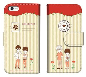 「SUPER LOVERS」 ダイアリースマホケースfor iPhone6/6s (キャラクターグッズ)