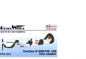P-40E/VK 105ウォーホーク クリーモフエンジン複座型 (プラモデル)