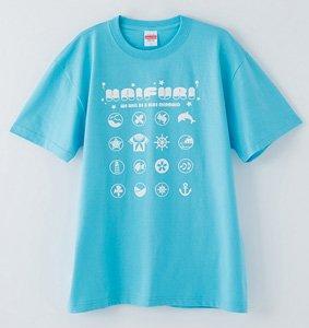 ハイスクール・フリート Tシャツ A柄 (キャラクターグッズ)