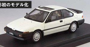 ホンダ クイント インテグラ (AV) RSi グリーク ホワイト (ミニカー)