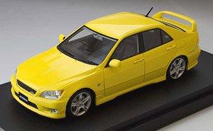 トヨタ アルテッツァ RS 200 (スポーツバージョン) スーパーブライトイエロー (ミニカー)
