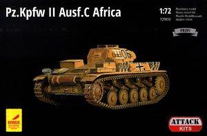 II号戦車C型 「北アフリカ戦」 (プラモデル)