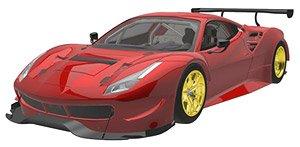 フェラーリ 488 GTE 2015 (レッド) (ミニカー)