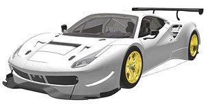 フェラーリ 488 GTE 2015 (ホワイト) (ミニカー)