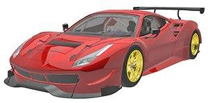 フェラーリ 488 GT3 2015 (レッド) (ミニカー)