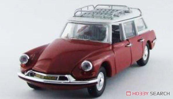 シトロエン ID 1962 レッド・グレー (ミニカー)