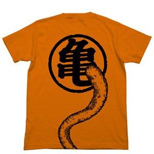 ドラゴンボールZ 悟空の尻尾Tシャツ ORANGE M (キャラクターグッズ)