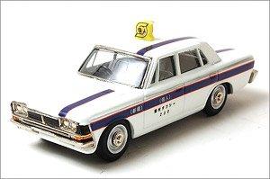 ファインモデル MS50型 トヨペットクラウン スタンダード 1967年式 東個協個人タクシー(白) (ミニカー)