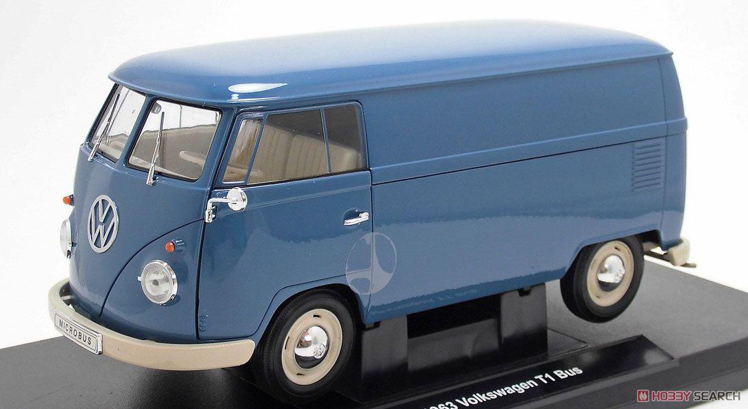 VW T1バス 1963 (PANEL VAN) レッド (ミニカー)