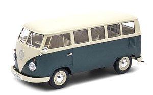 VW T1バス 1963 (WINDOW VAN) グリーン (ミニカー)