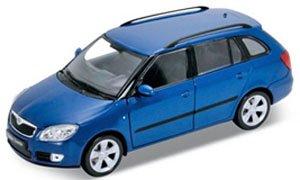 2009 SKODA FABIA COMBI II (ブルー) (ミニカー)