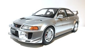 三菱 ランサー エボリューション V GSR メタリックシルバー (ミニカー)