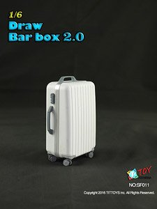 TITトイズ 1/6 スーツケース 2.0 ホワイト (ドール)