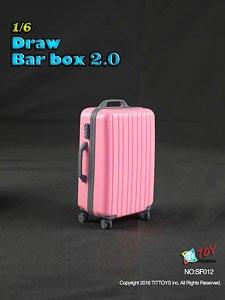 TITトイズ 1/6 スーツケース 2.0 ピンク (ドール)