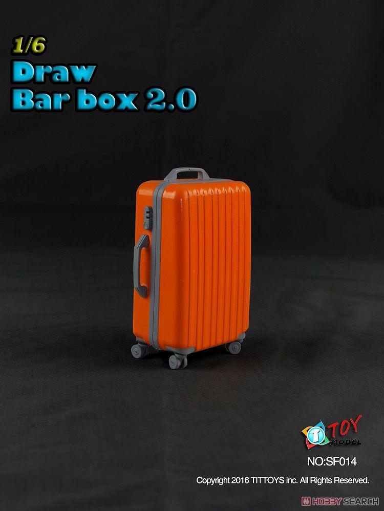 TITトイズ 1/6 スーツケース 2.0 オレンジ (ドール)