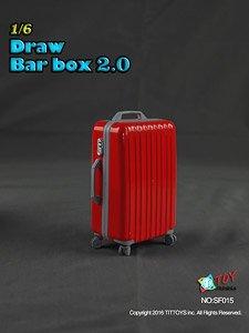 TITトイズ 1/6 スーツケース 2.0 レッド (ドール)