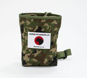 シン・ゴジラ JAPAN VS GODZILLA 自衛隊迷彩マルチポーチ (キャラクターグッズ)