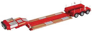 NOOTEBOOM 3アクスル ローローダー Pendelx レッド (ミニカー)