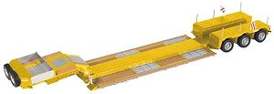 NOOTEBOOM 3アクスル ローローダー Pendelx `イエロー RAL 1007` (ミニカー)