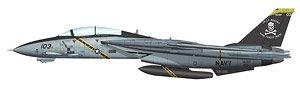 F-14B トムキャット 第103戦闘攻撃飛行隊 `ジョリー・ロジャース 2004` (完成品)