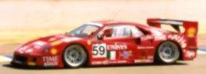 フェラーリ F40 24h ルマン1995 (Time) レッド (ミニカー)